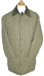 Beaver of Bolton Mens Diamond Quilted Tweed Jacket
