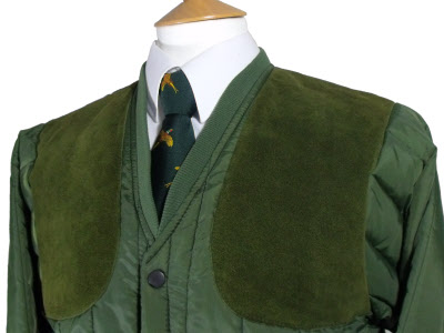 e9e5c15f9bc08 ... Beaver of Bolton Mens Vertical Quilted Shoot Jacket