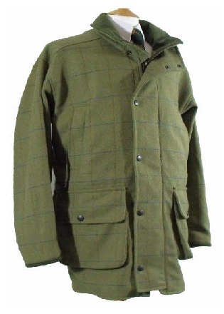 Mens Smart Tweed Shoot Coat