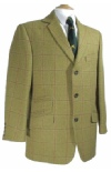Beaver Of Bolton Mens Single Breasted Tweed Sports Jacket