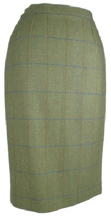Beaver of Bolton Ladies Waisted Pencil Skirt