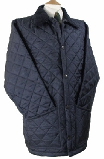 Beaver Mens Diamond Quilted Nylon Jacket