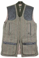 Beaver of Mens Zip Front Shoot Vest in Keeper