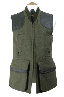 Beaver Mens Tweed Zip Fronted Shoot Vest