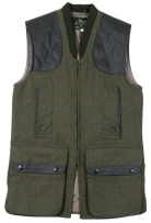 Beaver of Bolton Mens Zip Front Shoot Vest in QT1