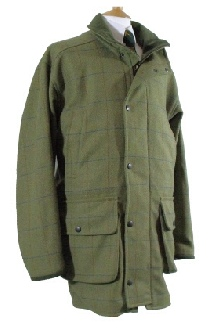 Beaver of Bolton Mens Smart Tweed Shooting Coat