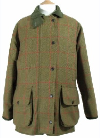 Beaver Ladies Tweed Fitted Shooting Coat