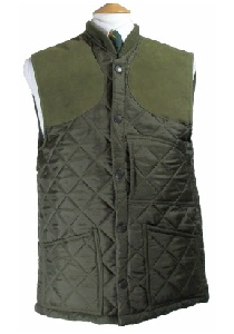Beaver of Bolton Mens Diamond Quilted Shoot Vest