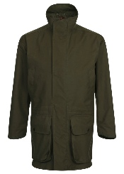 Beaver of Bolton Mens Ventile Cotton Smart Shoot Coat Front