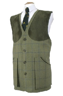 Beaver Mens Classic Tweed Shoot Vest