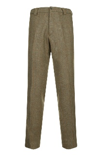 Beaver of Bolton Mens Slim Leg Tweed Trouser Front