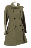 Beaver Of Bolton Ladies Military ¾ Double Breasted Coat