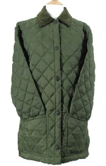 Beaver Ladies Diamond Quilted Nylon Jacket