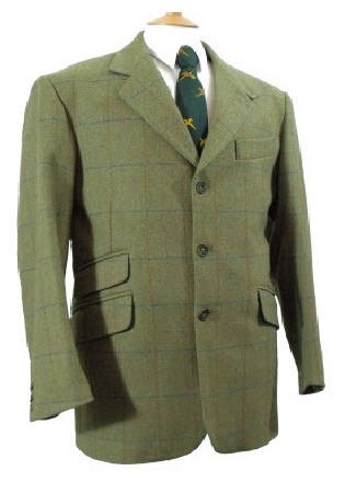 Beaver Mens Classic Tweed Sports Jacket