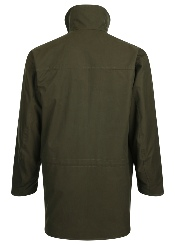 Beaver of Bolton Mens Ventile Cotton Smart Shoot Coat Rear