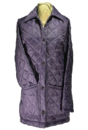 Beaver of Bolton Ladies Quilted Jacket in Plum