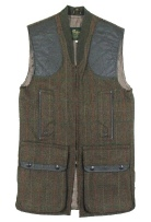 Beaver OF Bolton Mens Zip Front Shoot Vest in WT53