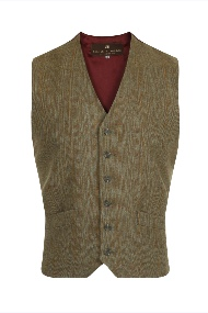 Beaver of Bolton Mens Tweed Two/Four Pocket Waistcoat