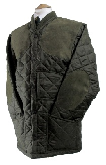 Beaver Mens Diamond Quilted Nylon Shooting Jacket
