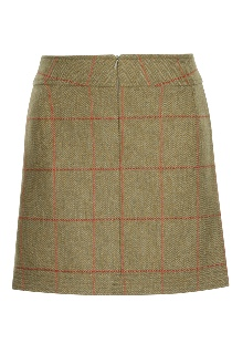 Beaver of Bolton Ladies Multi-Stitch Short Skirt Rear