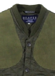 Beaver of Bolton  Diamond Quilted Shooting Waistcoat Collar & Shoulder Patches