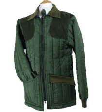 Beaver of Bolton Mens Ascot Vertical Quilted Shooting Jacket