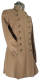 Beaver of Bolton  Ladies Pirate Coat in Camel Loden