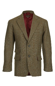 Beaver of Bolton Mens Single Breasted Two Button Tweed Sports Jacket