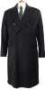 Beaver of Bolton Mens Double Breasted Wool Overcoat