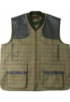 Beaver of Mens Zip Front Shoot Vest in UB 303