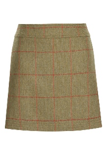 Beaver of Bolton Ladies Multi-Stitch Short Skirt Front