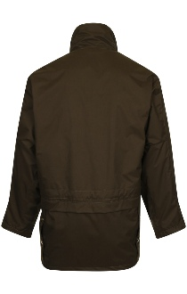 Beaver of Bolton Mens Lightweight Microfibre Shoot Coat - Rear