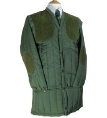 Beaver of Bolton Mens Vertical Quilted Shooting Jacket