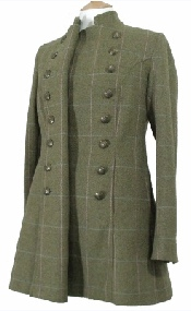 Beaver Ladies Tweed Pirate Coat