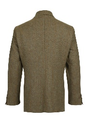 Beaver of Bolton Mens Single Breasted Two Button Tweed Sports Jacket Rear 2