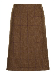 Beaver Ladies Tweed Pencil Skirt