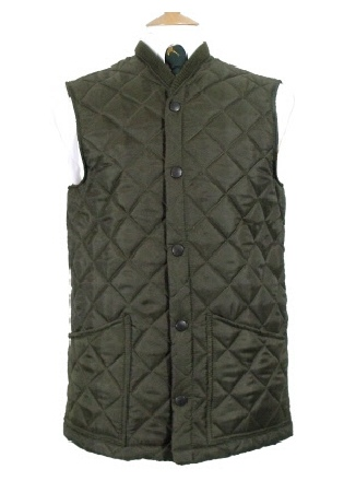Beaver Of Bolton Mens Diamond Quilted Waistcoat