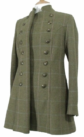 Beaver Ladies Long Tweed Pirate Jacket